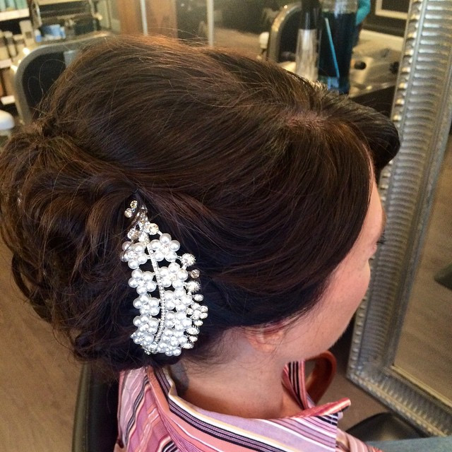 Hair & Makeup by Sara K | Bridal updo