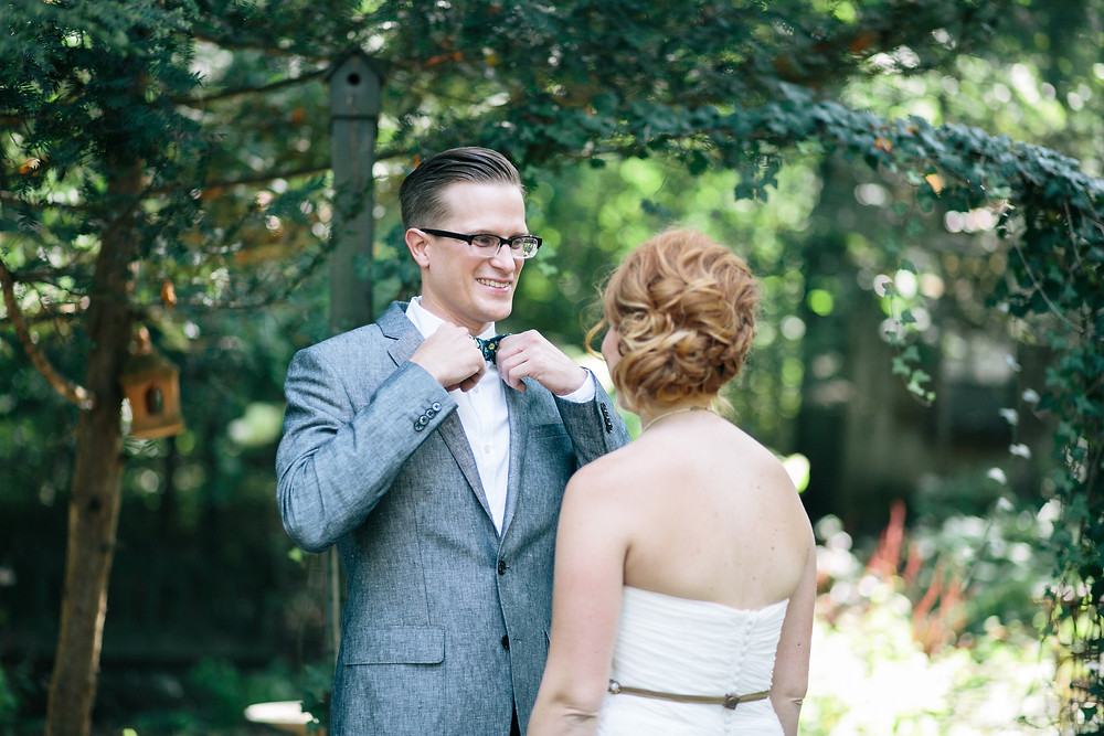 Hair & Makeup by Sara K. | Kristin, Camp Mack wedding