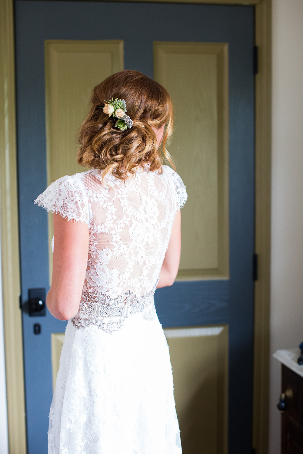 Hair & Makeup by Sara K. | Bethany, Fiddle Lake Farm wedding