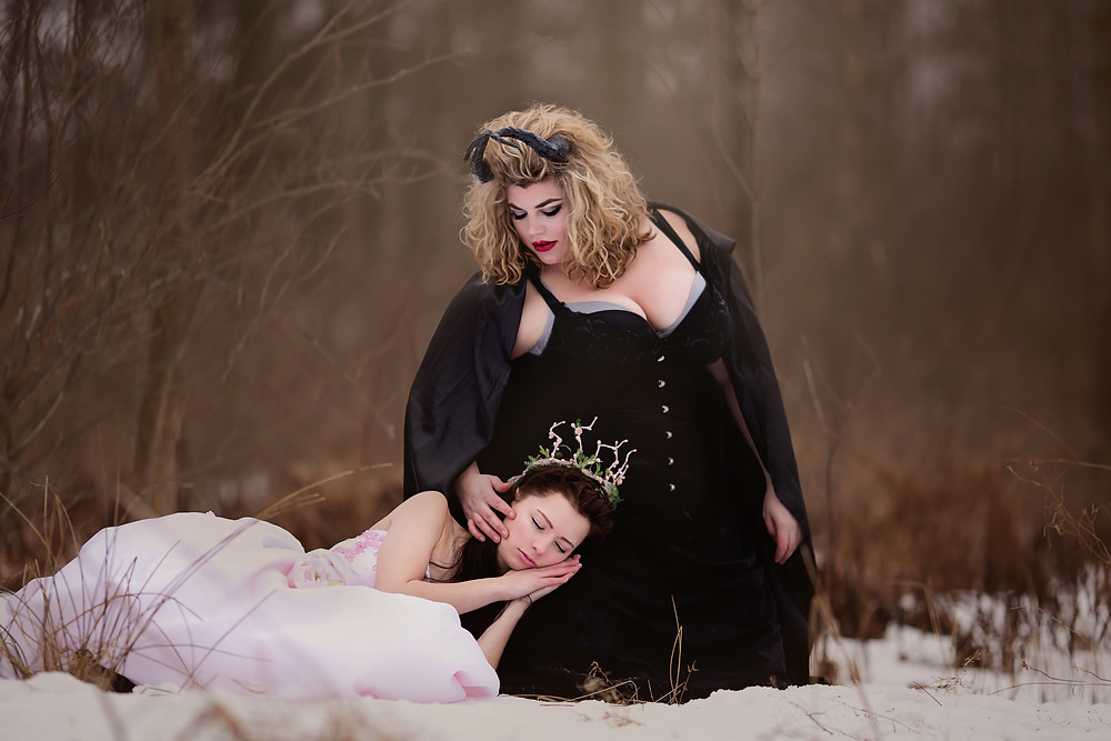 Hair & Makeup by Sara K. | Sleeping Beauty, Maleficent, style shoot