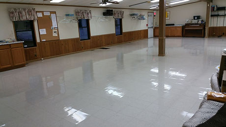 Urethane coating vct floor
