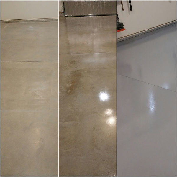 concrete floor sealing