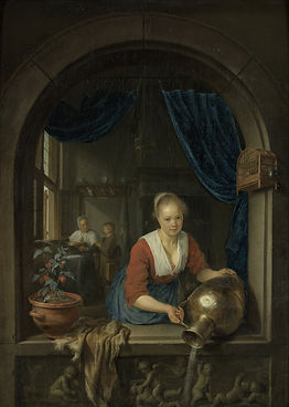 Gerard_Dou_-_Maid_at_the_Window_-_Google
