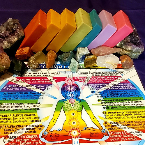 Chakra Balancing Cleansing Set