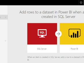 Create a real-time streaming dataset in Power BI using Microsoft Flow