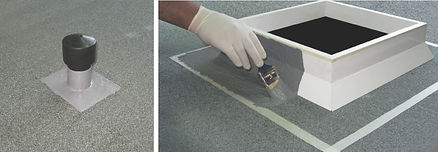 Maris Polymers tekuté hydroizolace střech Mariseal Detail