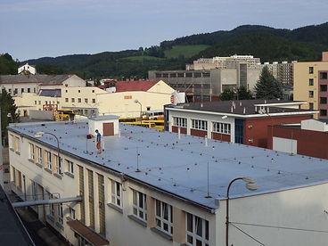 Hydroizolace střech PVC a TPO folie