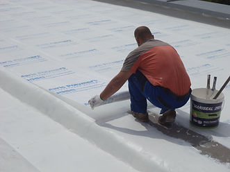 Maris Polymers hydroizolace střech Mariseal Fabric