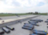 Hydroizolace střech modifikované pásy