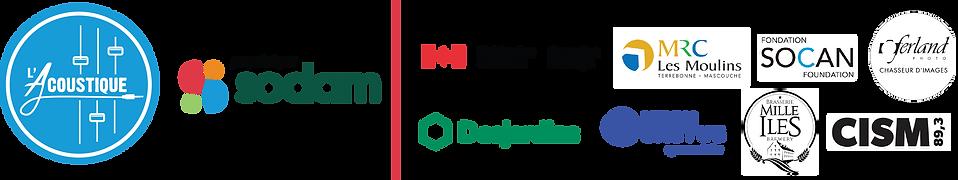 Grande tribu 2021_Bandeau logos partenai