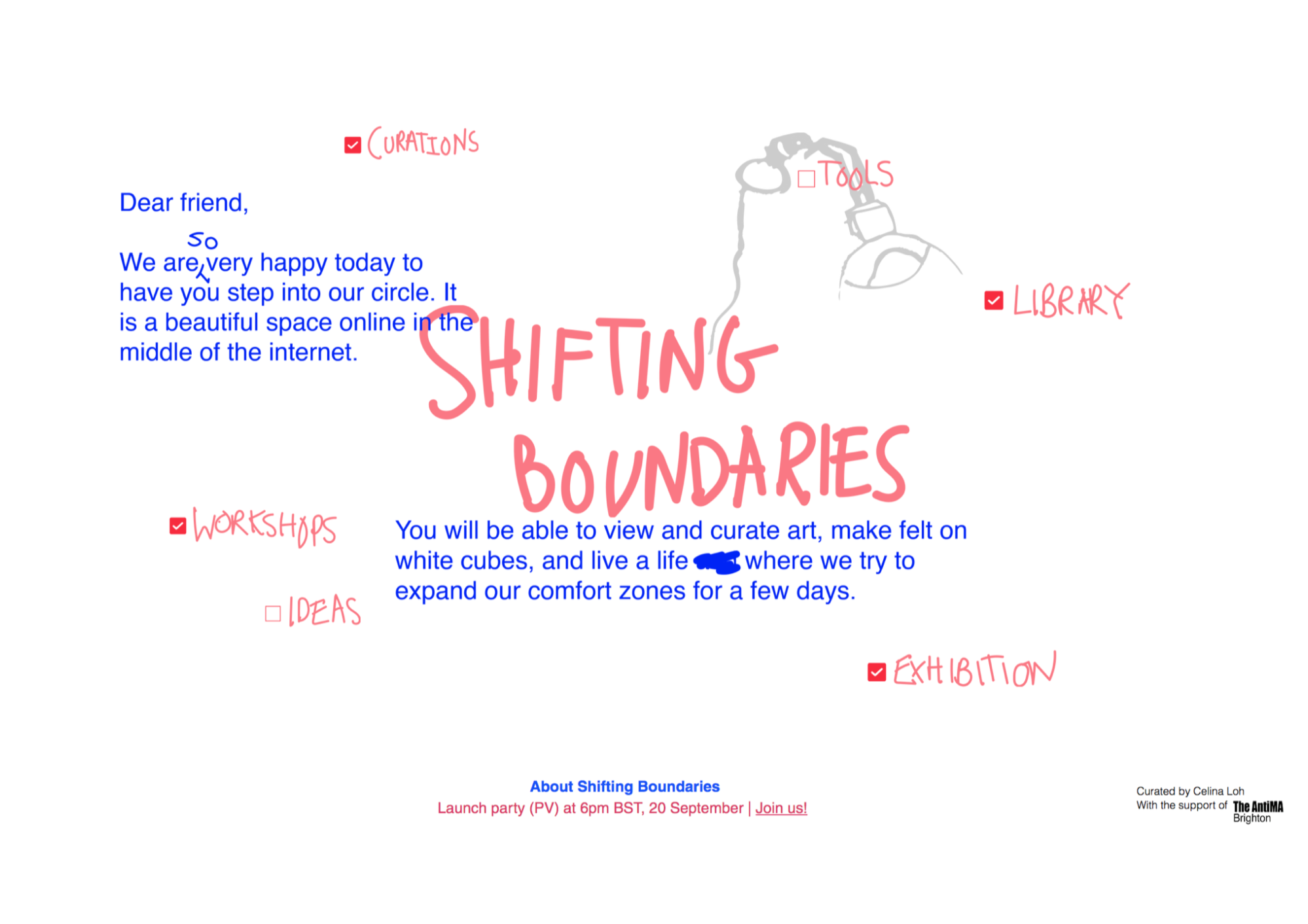 Shifting Boundaries main page - programmes