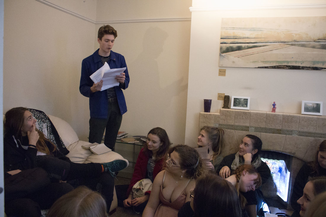 Poetry reading at Home is where the ART is Pt.2