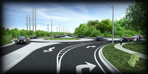 Sheridan Park Realignment Visualization