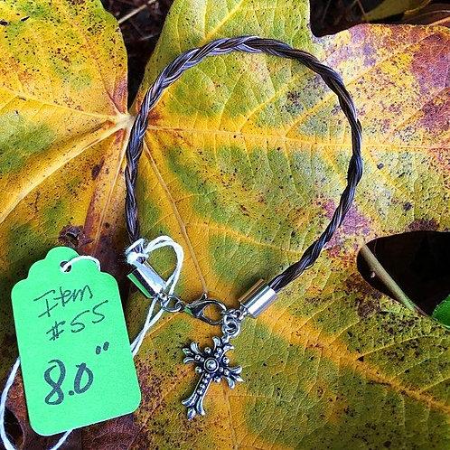 """Horse's Hair Bracelet #55 (8"""")"""