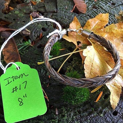 """Horse's Hair Bracelet #17 (8"""")"""