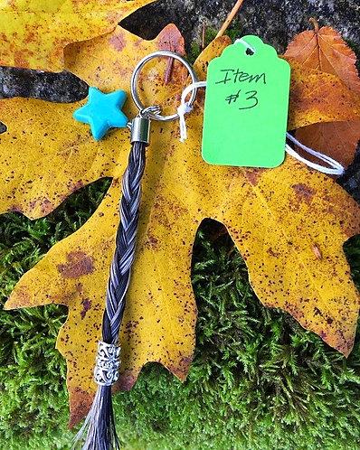 Horse's Hair Keychain #3