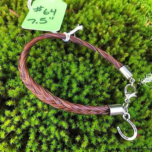 """Horse's Hair Bracelet #64 (7.5"""")"""