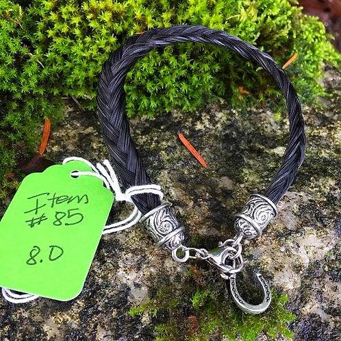 """Horse's Hair Bracelet #85 (8"""")"""
