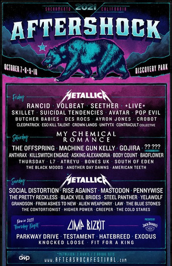 SKILLET Added to Aftershock Bill