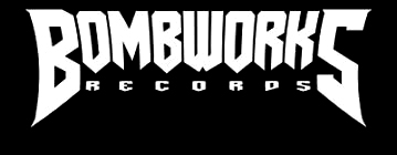 bombworks logo inverted