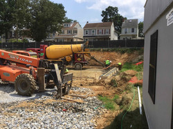 cement for townhome
