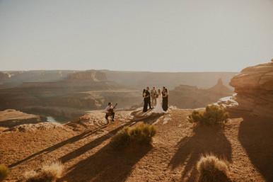 Wedding at Deadhorse Point