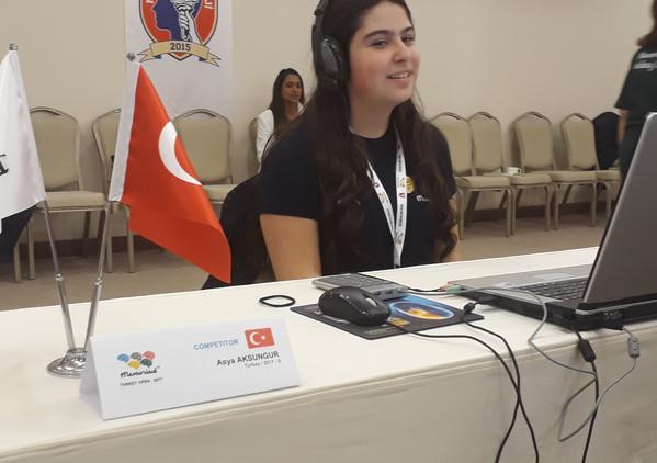 Asya Aksungur Memoriad İstanbul 2016