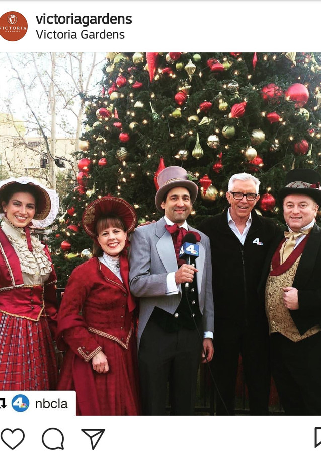 Carolers Featured on NBC LA 4