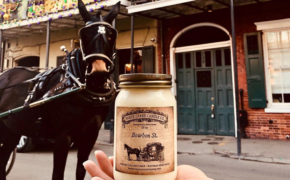 vieux carre organic candle bourbon st