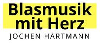 Logo Blasmusik mit Herz Jochen Hartmann