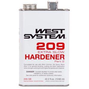 209 Tropical Epoxy Hardener .66 Pint