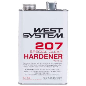 207 Special Clear Hardener .66 Pint