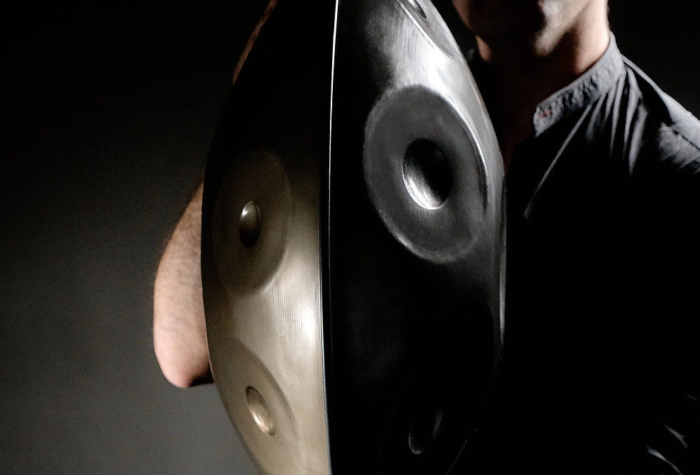 Handpan Stainless Pro 13 notes B minor