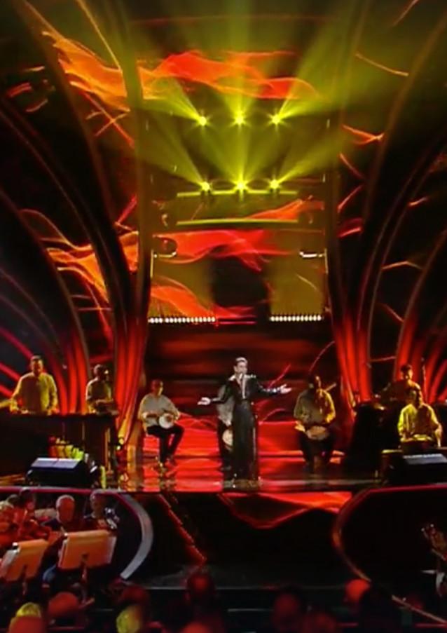 Sanremo Festival 2020, Loris Lombardo on the Stage