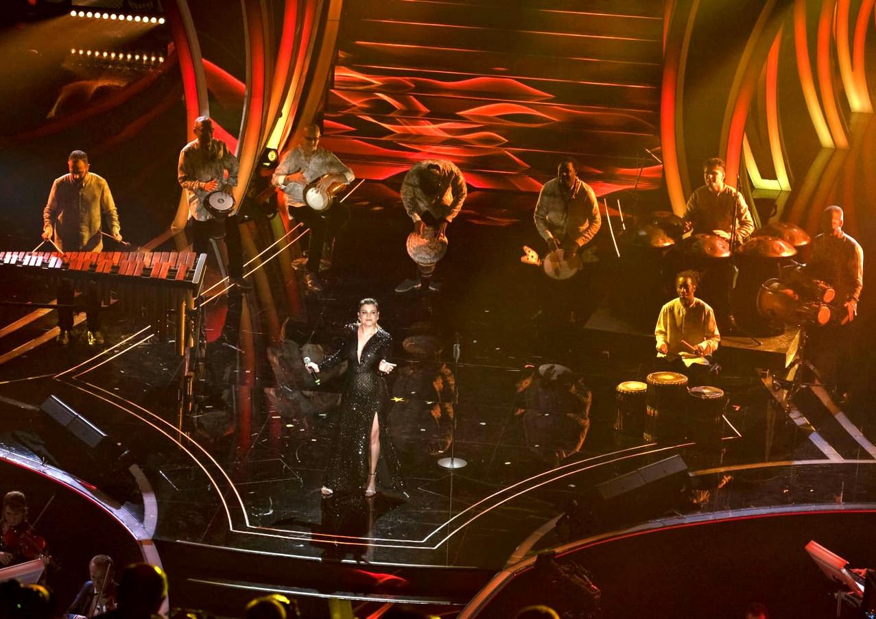 Lombardo Handpan on the Festival di Sanremo