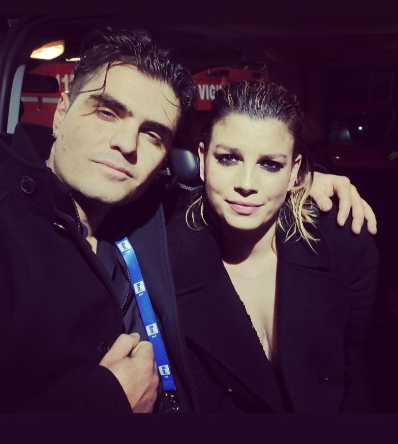 Loris Lombardo with Emma Marrone