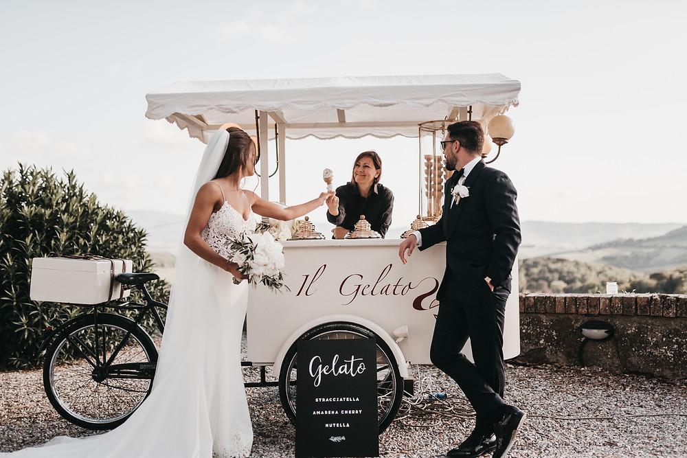 italy gelato weddings