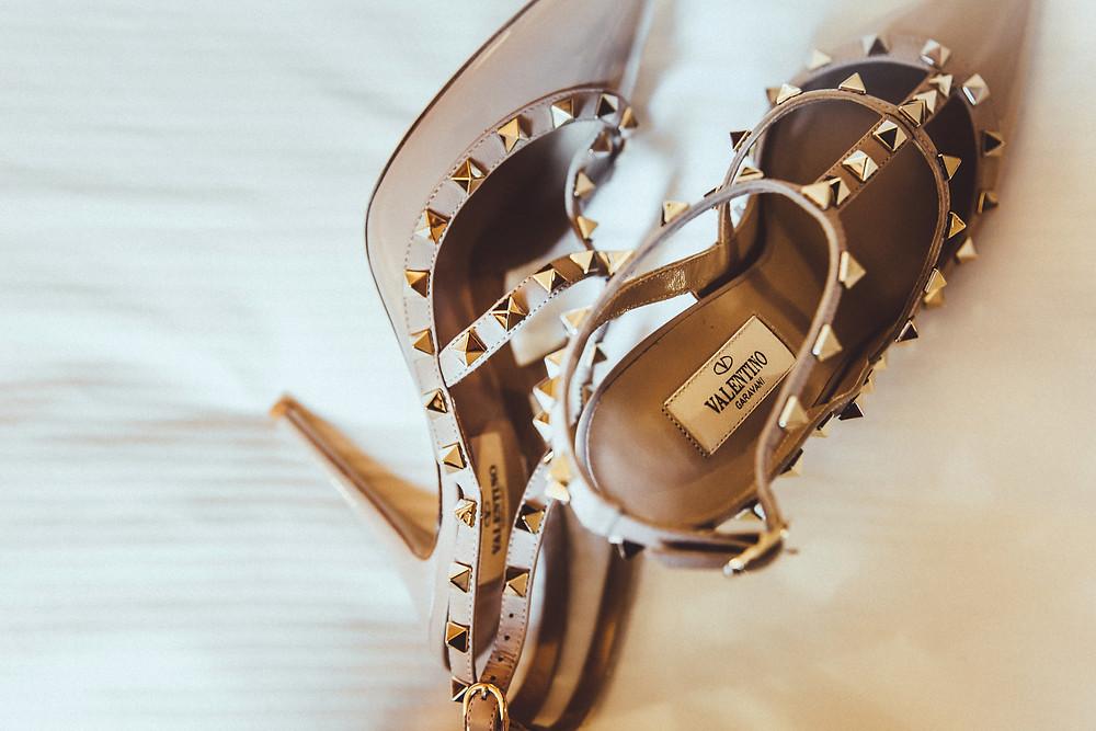 valentino wedding shoe
