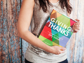Giving Thanks: a gratitude journal for children, by Michelle Statton-Dickie