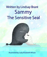 Sammy the Sensitive Seal - Front Cover.J