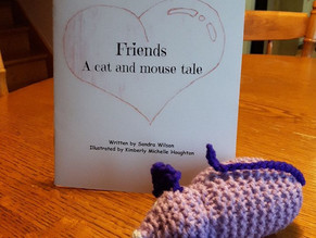 Friends: A Cat and Mouse Tale, by Sandra Wilson