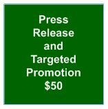 Press Release and Targeted Promotion