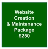 Website Creation and Update Package
