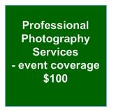 Professional Photography Services - event coverage