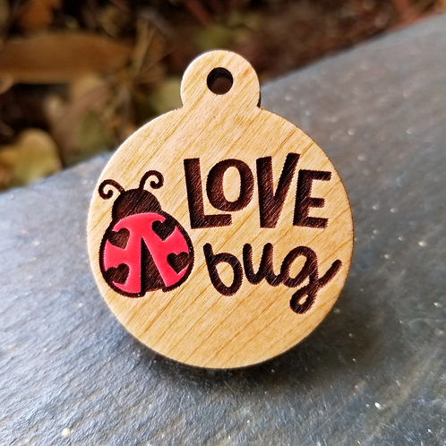 Love Bug Pet Tag