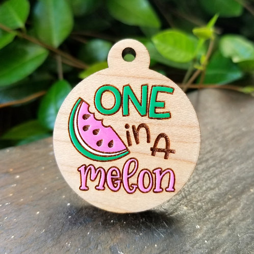 One in a Melon Pet Tag