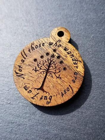 Tree of Gondor Bocote Tag