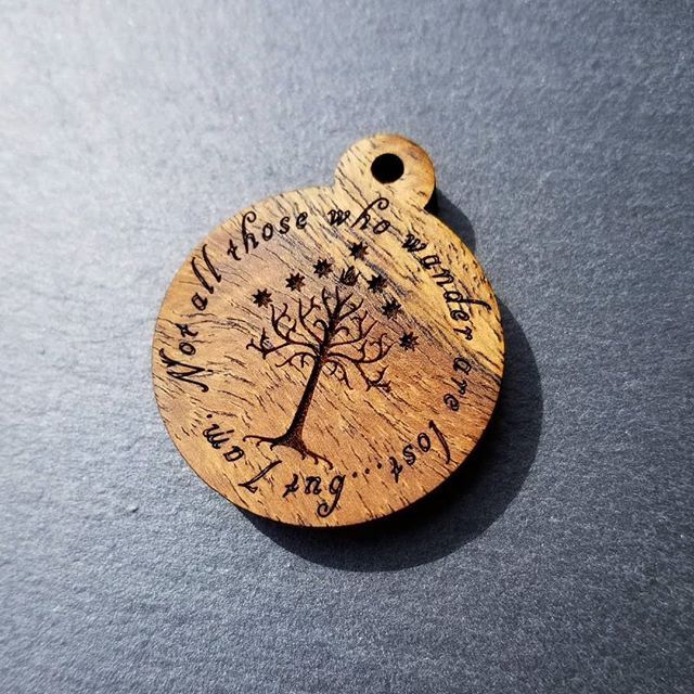 Tree of Gondor Bocote Tag