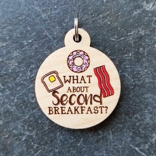 Second Breakfast Pet Tag