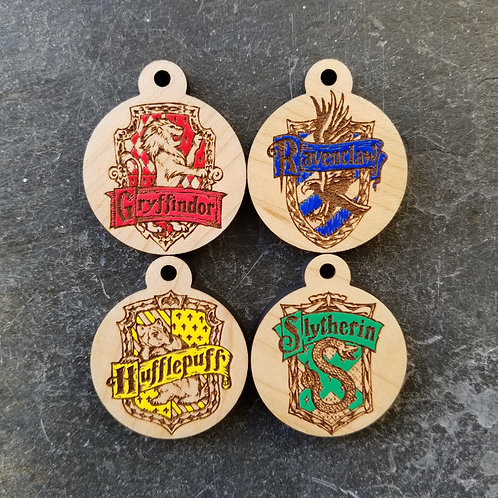 Wizarding Crest Themed Pet Tags